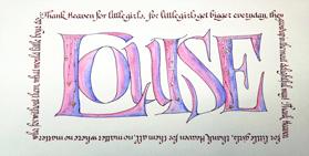 Calligraphy #9